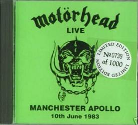 Live At Manchester Apollo 10.6.83