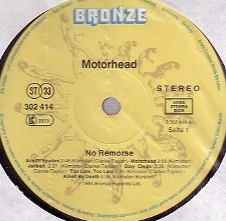 No Remorse, Germany, 302 416-420