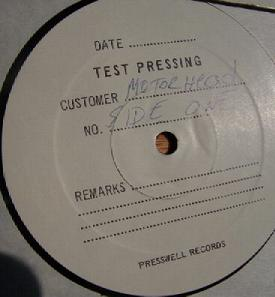 USA test pressing