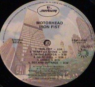 Iron fist records